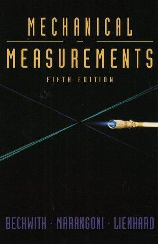 9780201569476: Mechanical Measurements