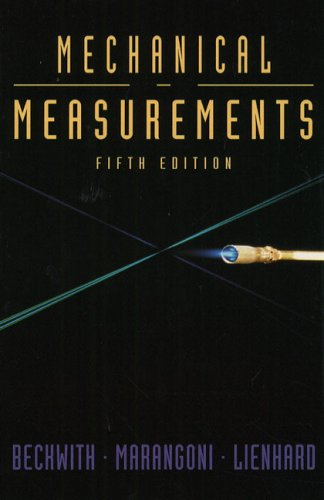 9780201569476: Mechanical Measurements (5th Edition)