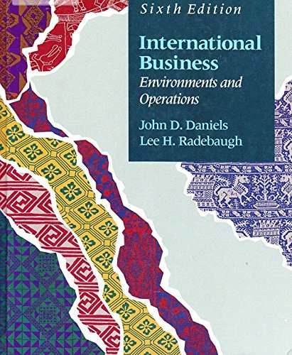 International Business: Daniels, John D.;