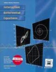 Interactive Differential Equations (for Macintosh) (0201571315) by Beverly West; Steven Strogatz; Jean Marie McDill; John Cantwell; Hubert Hohn