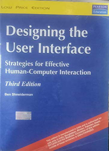 9780201572865: Designing the User Interface: Strategies for Effective Human-computer Interaction