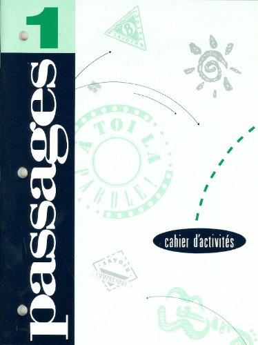 Passages 1: Cahier D-Activites: Consumable French Workbook (1993 Copyright): Collins McConnell