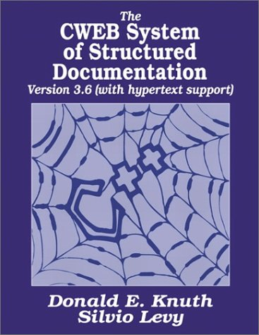 9780201575699: The CWEB System of Structured Documentation
