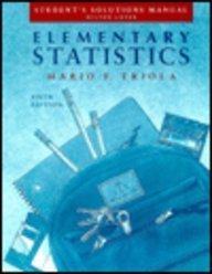9780201576832: Elementary Statistics (solutions manual)