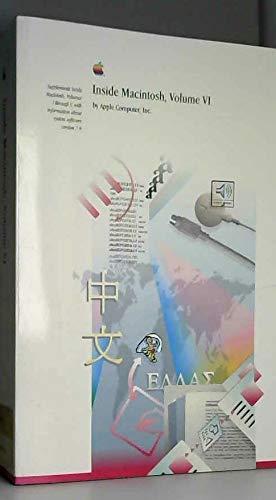 9780201577556: Inside Macintosh, Vol. 6