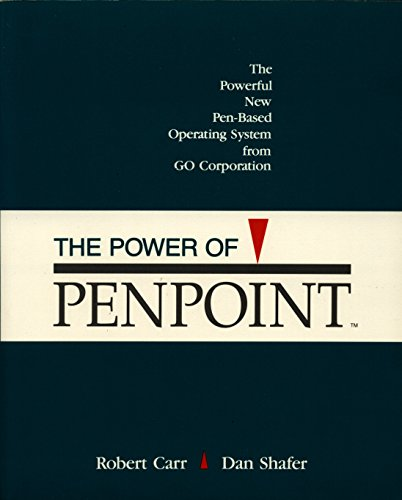 The Power of Penpoint (0201577631) by Robert Carr; Dan Shafer