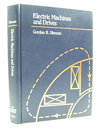 9780201578850: Electric Machines and Drives