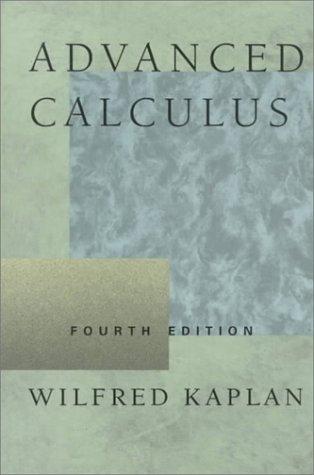 9780201578881: Advanced Calculus