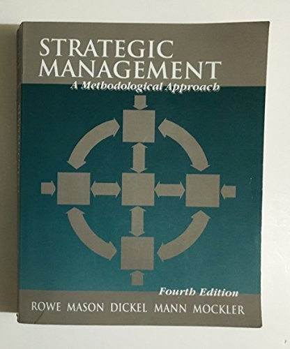 9780201586381: Strategic Management: A Methodological Approach