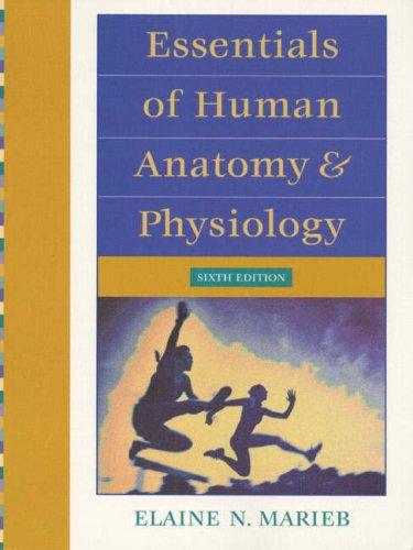 9780201586763: Essentials of Human Anatomy & Physiology