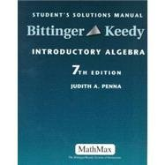 Introductory Algebra: Student's Solutions Manual: Penna, Judith A.,