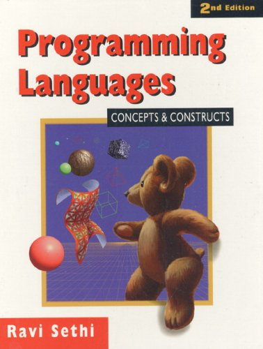 9780201590654: Programming Languages: Concepts and Constructs (2nd Edition)
