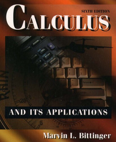 9780201593389: Calculus and its Applications