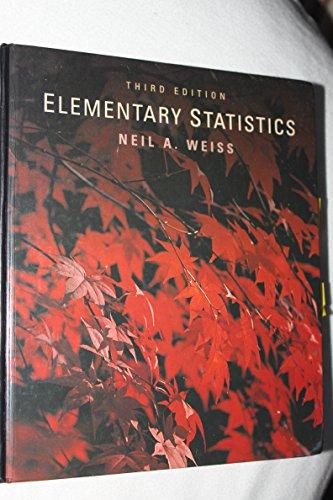9780201594232: Elementary Statistics