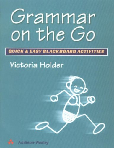 Grammar on the Go (0201595060) by Holder