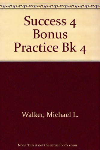 9780201595277: Success: Communicating in English, Level 4 (Bk4)