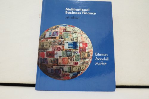 9780201595574: Multinational Business Finance, 7th Edition,