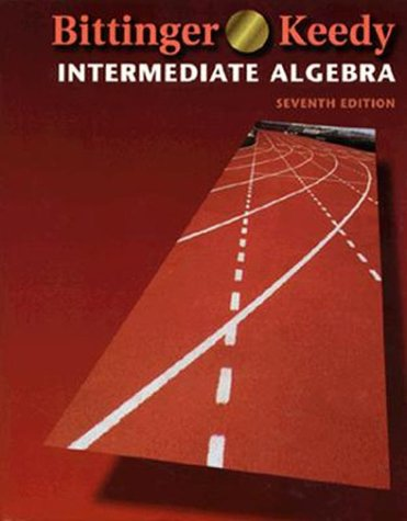9780201595628: Intermediate Algebra