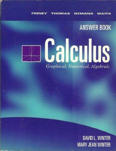 9780201596441: Calculus
