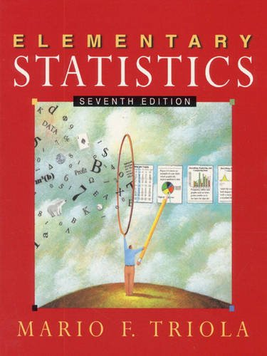 9780201598933: Elementary Statistics