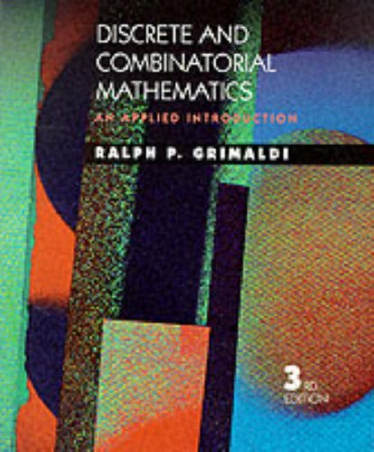 9780201600445: Discrete and Combinatorial Mathematics: An Applied Introduction
