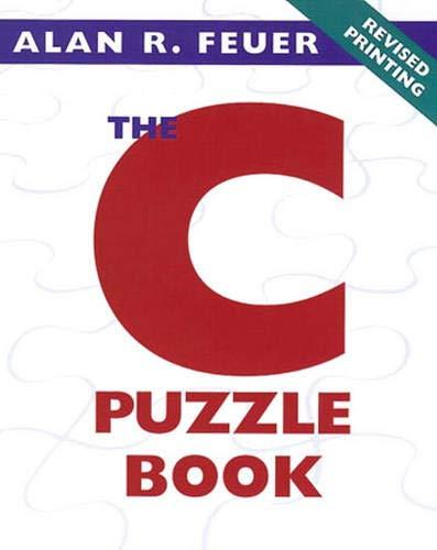 9780201604610: The C Puzzle Book