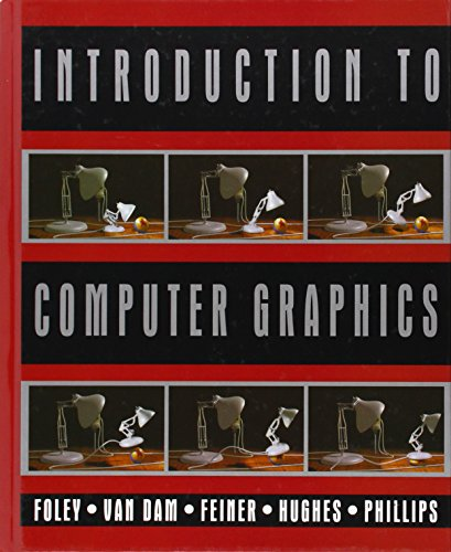 9780201609219: Introduction to Computer Graphics