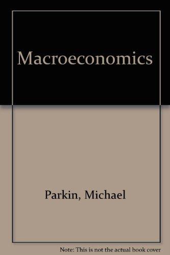 9780201609820: Macroeconomics