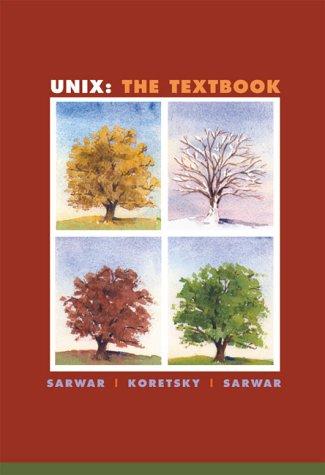 9780201612608: UNIX: The Textbook