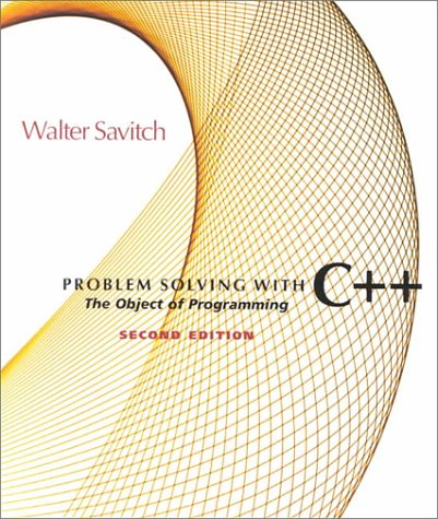9780201612615: Problem Solving With C++: Object of Programming