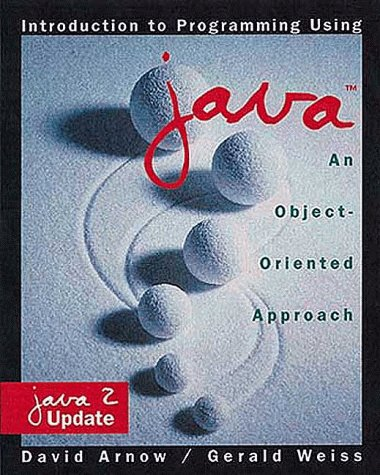 9780201612721: Introduction to Programming Using Java: An Object-Oriented Approach: Java 2 Update