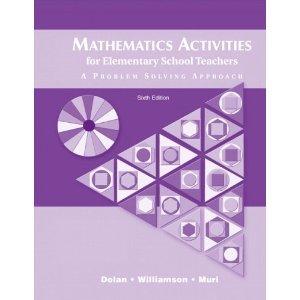 9780201613216: Mathematics Activities for Elementary School Teachers: A Problem-Solving Approach
