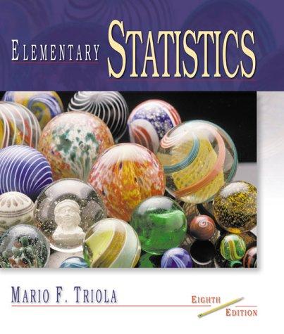 9780201614770: Elementary Statistics