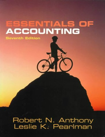 Essentials of Accounting, 7th Ed.