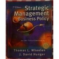 9780201615432: Strategic Management and Business Policy (7th Edition)