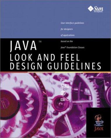 9780201615852: Java(TM) Look and Feel Design Guidelines
