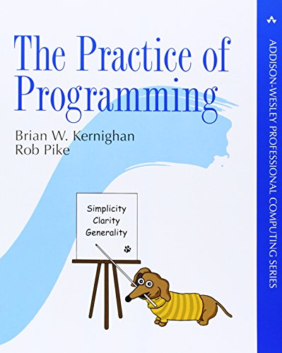 9780201615869: The Practice of Programming (Professional Computing)