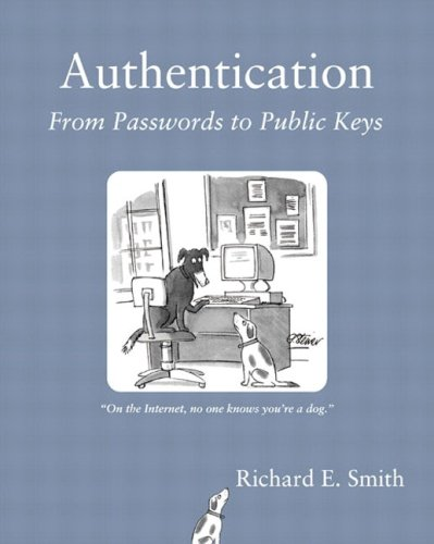 9780201615999: Authentication: From Passwords to Public Keys