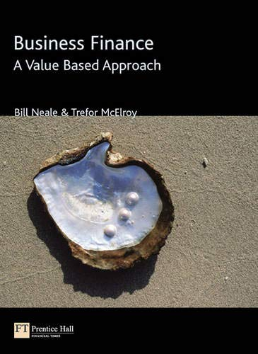 9780201619041: Business Finance: A Value-Based Approach
