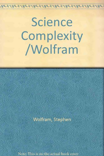 9780201622737: A Science of Complexity