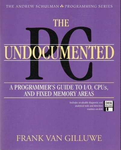 9780201622775: The Undocumented Pc/Book and Disk