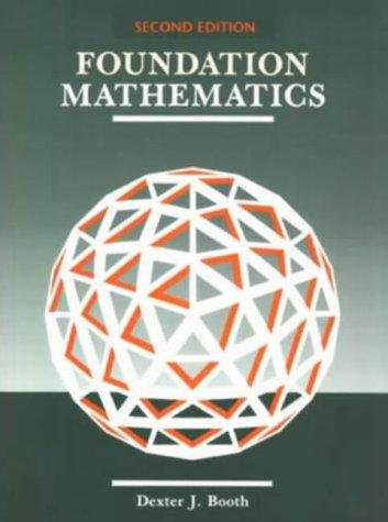 9780201624199: Foundation Mathematics (Modern applications of mathematics)
