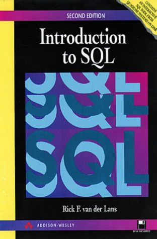 9780201624250: Introduction to SQL (2nd Edition)