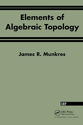 9780201627282: Elements Of Algebraic Topology