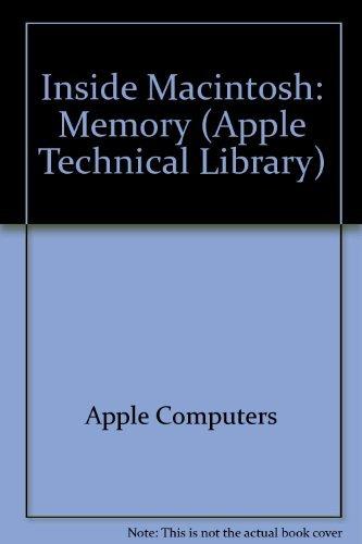 9780201632408: Memory (Inside Macintosh)