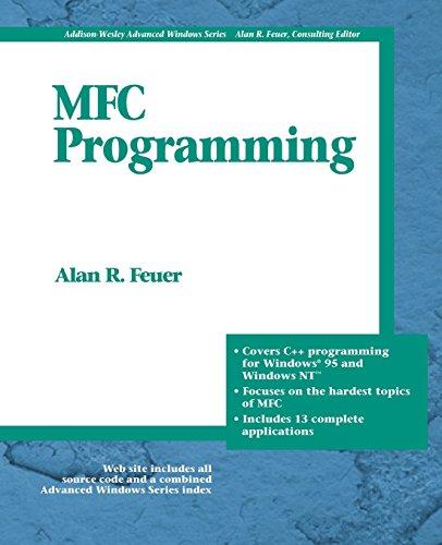9780201633580: MFC Programming