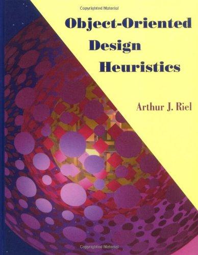 9780201633856: Object-Oriented Design Heuristics
