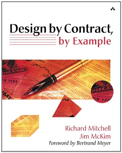 9780201634600: Design by Contract, by Example