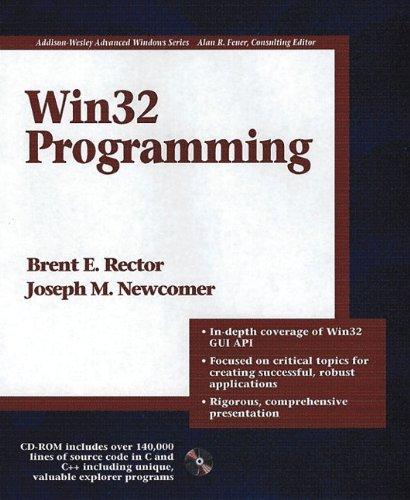 Win32 Programming (Advanced Windows)
