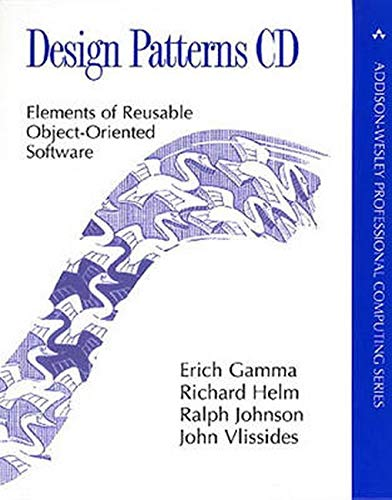 9780201634983 Design Patterns Cd Elements Of Reusable Object Oriented Software Professional Computing Abebooks Gamma Erich Helm Richard Johnson Ralph Vlissides John 0201634988